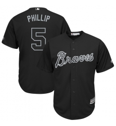 Braves 5 Freddie Freeman Phillip Black 2019 Players Weekend Player Jersey