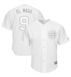 Cubs 9 Javier Baez El Mago White 2019 Players Weekend Player Jersey
