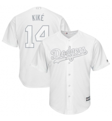 Dodgers 14 Enrique Hernandez Kike White 2019 Players Weekend Player Jersey