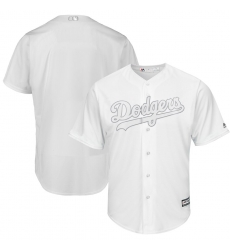 Dodgers Blank White 2019 Players Weekend Player Jersey
