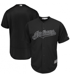 Indians Blank Black 2019 Players Weekend Authentic Player Jersey