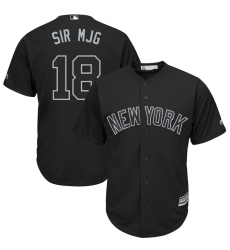 Yankees 18 Didi Gregorius Sir Mjg Black 2019 Players Weekend Player Jersey