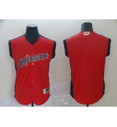 American League Red 2019 MLB all star Workout Team Jersey