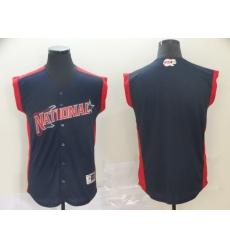 National League Navy 2019 MLB all star Workout Team Jersey