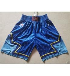 Bulls 2020 NBA All Star Blue Jordan Brand Swingman Shorts