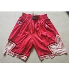 Bulls 2020 NBA All Star Red Jordan Brand Swingman Shorts