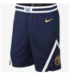 Men NBA Denver Nuggets Nike Navy Shorts
