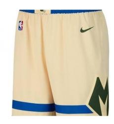 Men Nike NBA Bucks Shorts