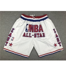 NBA All Star Swingman White Shorts