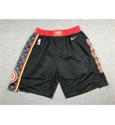 NBA Atlanta Hawks Swingman Black Shorts