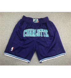 NBA Charlotte Hornets Pocket Swingman Shorts