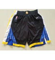 NBA Golden States Warriors Swingman Black Shorts
