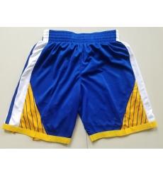 NBA Golden States Warriors Swingman Blue Shorts