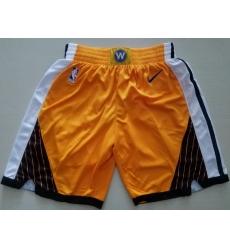 NBA Golden States Warriors Swingman Gold Shorts