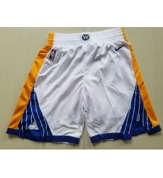 NBA Golden States Warriors Swingman White Shorts II