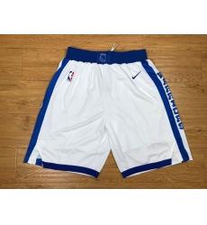 NBA Golden States Warriors Swingman White Shorts