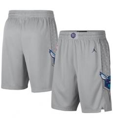 NBA Men Hornet Grey Shorts