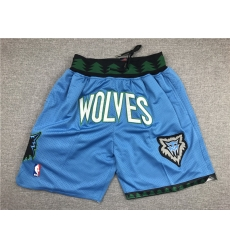 NBA Minnesota Timberwolves Pocket Swingman Shorts