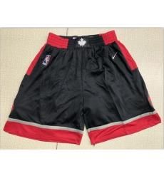 Raptors Black Nike Swingman Shorts