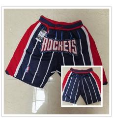 Rockets Navy Just Don With Pocket Swingman Shorts