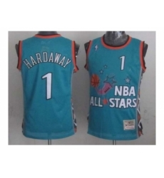 NBA 96 All Star #1 Hardaway Blue Jerseys