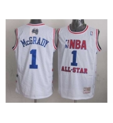 NBA 96 All Star #1 Mcgrady white