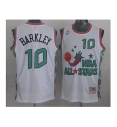 NBA 96 All Star #10 Barkley White Jerseys
