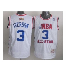 NBA 96 All Star #3 Iverson white