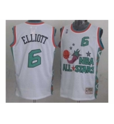 NBA 96 All Star #6 Elliott White Jerseys