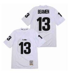 Jamie Foxx Signed Any Given Sunday Miami Sharks 13 Beamen Jersey White