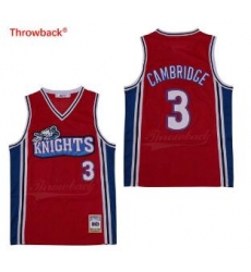 Lil Bow Wow LA Knights Movie Basketball Jersey Red 3 Cambridge