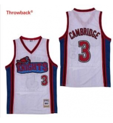 Lil Bow Wow LA Knights Movie Basketball Jersey White 3 Cambridge