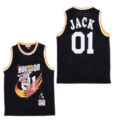 Men B&R Remix Jersey Rocket 01 Jack Black Throwback Jersey