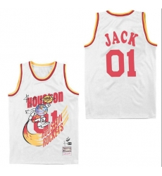 Men B&R Remix Jersey Rocket 01 Jack White Throwback Jersey