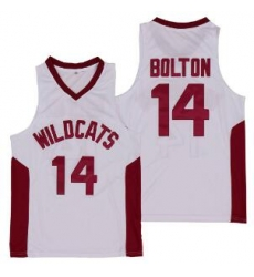 Ncaa Troy Bolton 14 High School Wildcats Basketball Jersey