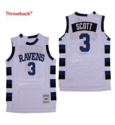 One Tree Hill Scott Ravens Movie jersey 3 White