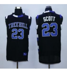 One Tree Hill Scott Ravens Movie jersey Black 23