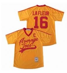 Pete LaFleur 16 Average Joe's Dodgeball Jersey
