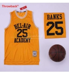 The Fresh Prince 14 Bel Air Academy Basketball Movie Yellow #25