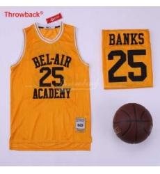 The Fresh Prince 14 Bel Air Academy Basketball Movie Yellow #25