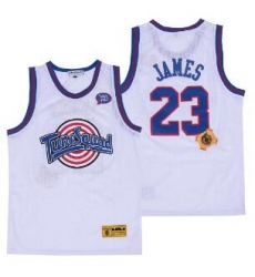 Tune Squad Space Movie jersey 23 White Lebron James