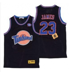 Tune Squad Space Movie jersey Black Lebron James