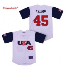 USA National Team 45 Trump Base Ball Jersey