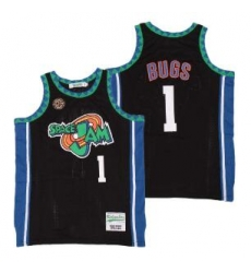 space jam Bugs Bunny 1 Black Film Jersey