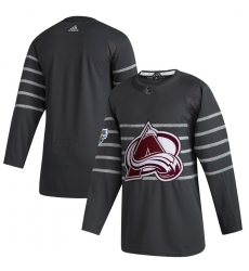 Avalanche Blank Gray 2020 NHL All Star Game Adidas Jersey