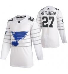 Blues 27 Alex Pietrangelo White 2020 NHL All Star Game Adidas Jersey
