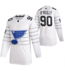Blues 90 Ryan O 27Reilly White 2020 NHL All Star Game Adidas Jersey
