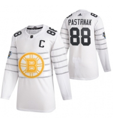 Bruins 88 David Pastrnak White 2020 NHL All Star Game Adidas Jersey