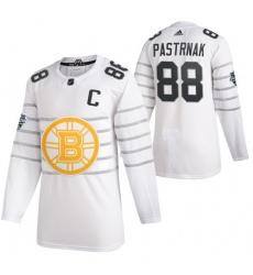 Bruins 88 David Pastrnak White 2020 NHL All Star Game Adidas Jersey