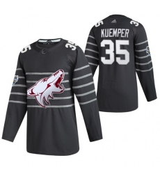 Coyotes 35 Darcy Kuemper Gray 2020 NHL All Star Game Adidas Jersey